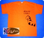 Trust Tigger Shirt in Orange
